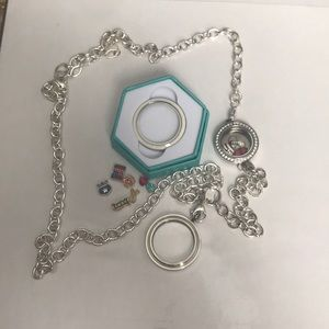 Over the heart service locket
